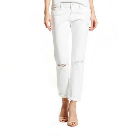 DL1961 Denim - DL1961 9610 Womens Azalea White Relaxed Fit White